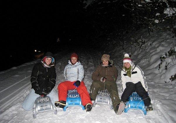 Outdoor Interlaken AG Night Sledding with Fondue