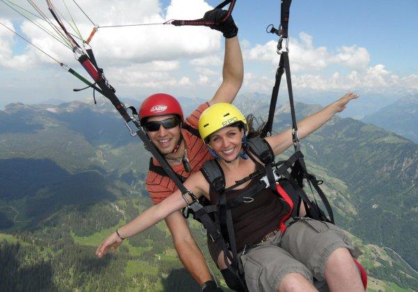 Swiss Paragliding & Adventure GmbH * Paragliding Beatenberg - Interlaken