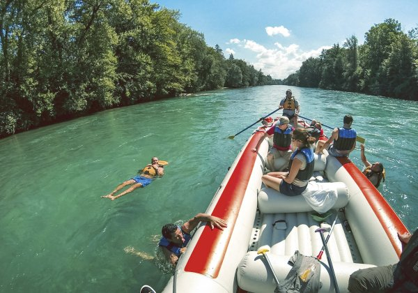 Outdoor Interlaken AG Aare Float Trip