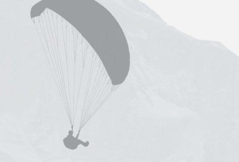 "Paragliding Interlaken GmbH 01 - Paragliding ""Big Blue"" Winter"