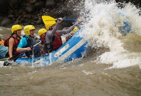 Rafting Sarapiqui River