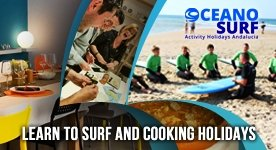 Learn Surf - Cooking Holidays
