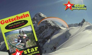 The Star Paragliding Fly Day Gift Voucher