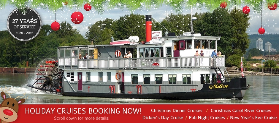 Welcome to Paddlewheeler Riverboat Tours!